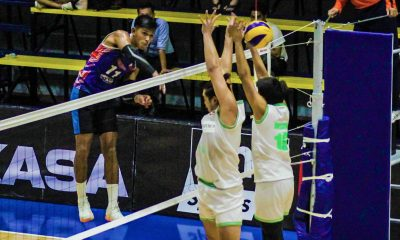 Tiebreaker Times Ran Abdilla, Espejo-less Rebisco buck slow start against IEM for 5th win DLSU News Spikers' Turf Volleyball  Vince Abrot Sta. Elena Wrecking Balls Rex Intal Rebisco-Philippines RanRan Abdilla Philippine Coast Guard Dolphins Nico Almendras Kim Malabunga Esmail Kasim Edward Camposano Easytrip-Raimol Dong dela Cruz Arnold Laniog Animo Green Spikers 2019 Spikers Turf Season 2019 Spikers Turf Reinforced Conference