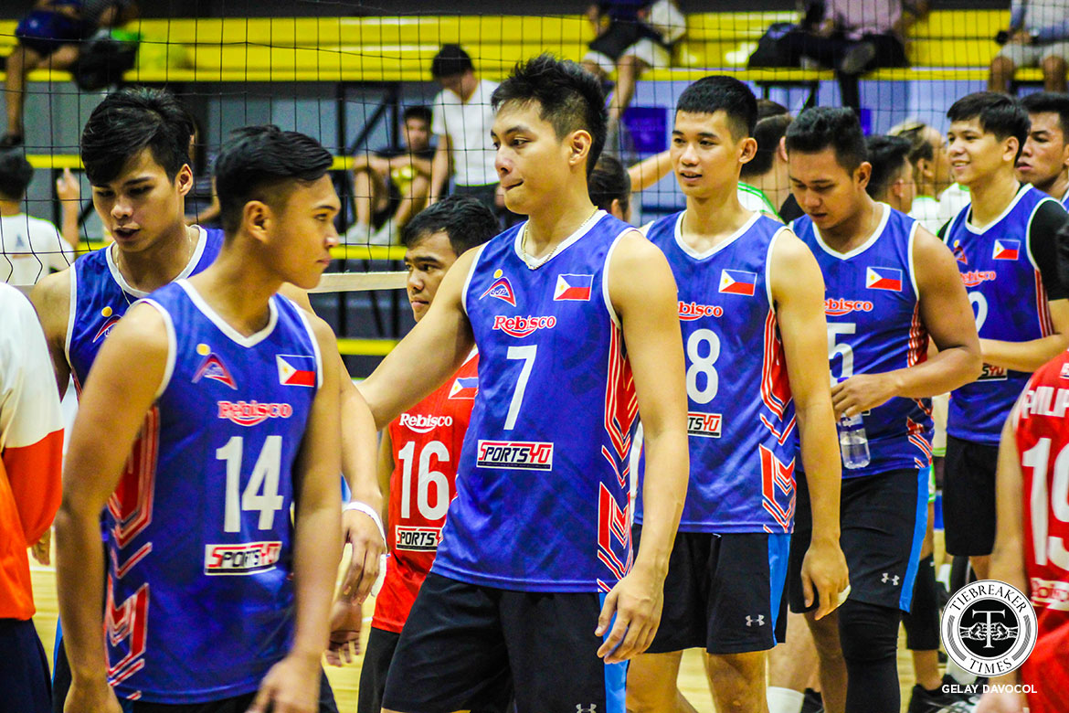 Tiebreaker Times Intal, Malabunga provide silver-lining in disappointing Rebisco win vs IEM News Spikers' Turf Volleyball  Rex Intal Rebisco-Philippines Kim Malabunga Dong dela Cruz 2019 Spikers Turf Season 2019 Spikers Turf Reinforced Conference