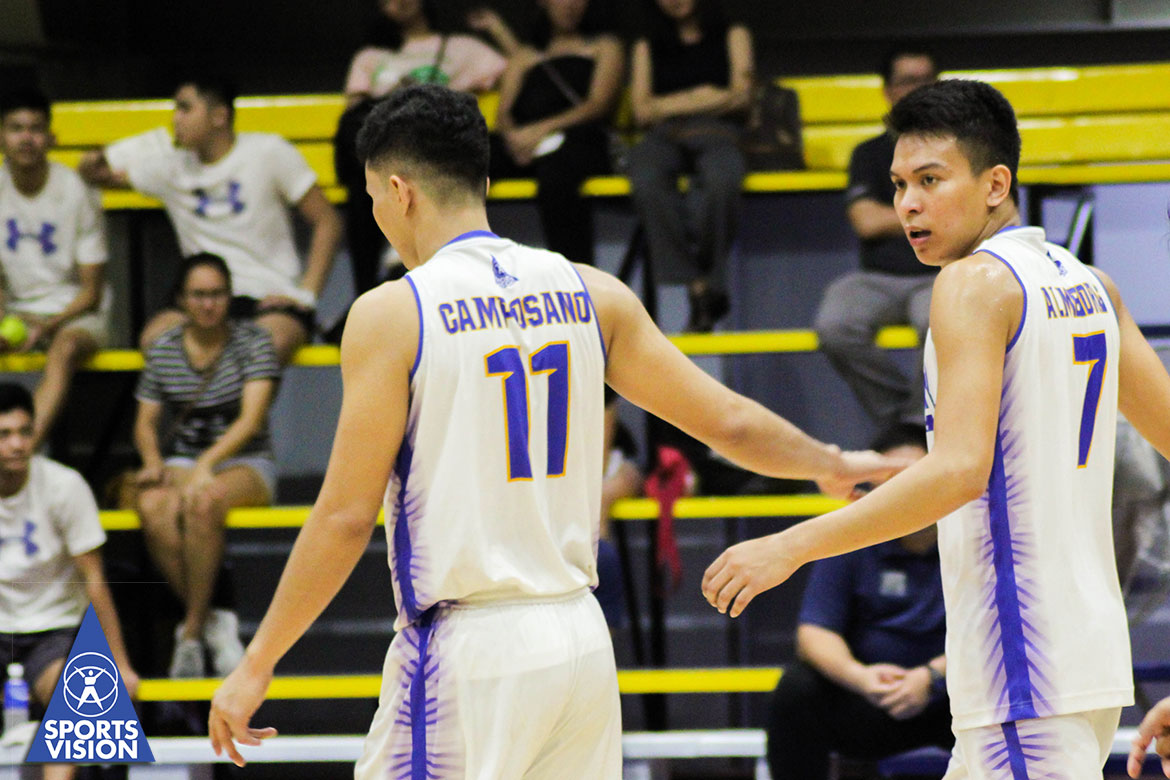 Tiebreaker Times More than the win, Almendras and Camposano honored to go up against Rebisco-PH News NU Spikers' Turf Volleyball  Sta. Elena Wrecking Balls Nico Almendras Edward Camposano 2019 Spikers Turf Season 2019 Spikers Turf Reinforced Conference