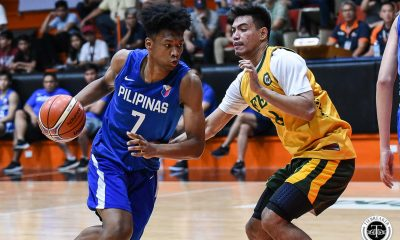 Tiebreaker Times AJ Edu out for U19 World Cup as torn ACL feared Basketball Gilas Pilipinas News  Gilas Pilipinas Youth AJ Edu 2019 FIBA Under-19 World Cup