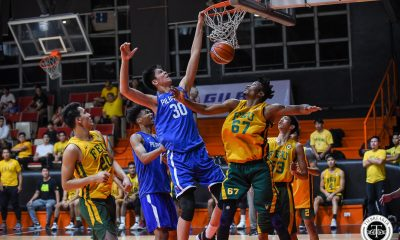 Tiebreaker Times Kai Sotto shows might as Gilas Youth escapes FEU in tune-up Basketball FEU Gilas Pilipinas News  Xyrus Torres Sandy Arespacochaga Royce Alforque Olsen Racela Kai Sotto Hubert Cani Gerry Abadiano FEU Men's Basketball Barkley Ebona AJ Edu 2019 FIBA Under-19 World Cup