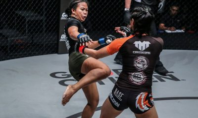 Tiebreaker Times Angelie Sabanal plans to showcase new tricks in Shanghai Mixed Martial Arts News ONE Championship  ONE: Legendary Quest Angelie Sabanal