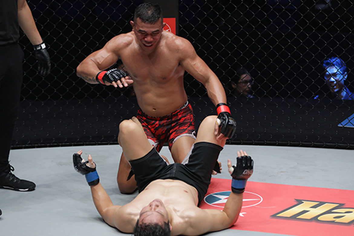 Tiebreaker Times Trestle Tan hopes training with Brazilian Top Team pays off Mixed Martial Arts News ONE Championship  Trestle Tan ONE: Legendary Quest