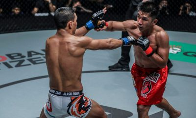 Tiebreaker Times Southpaw Kairat Akhmetov can give Danny Kingad problems, says Mark Sangiao Mixed Martial Arts News ONE Championship  Team Lakay ONE: Dawn of Heroes Mark Sangiao Kairat Akhmetov Danny Kingad