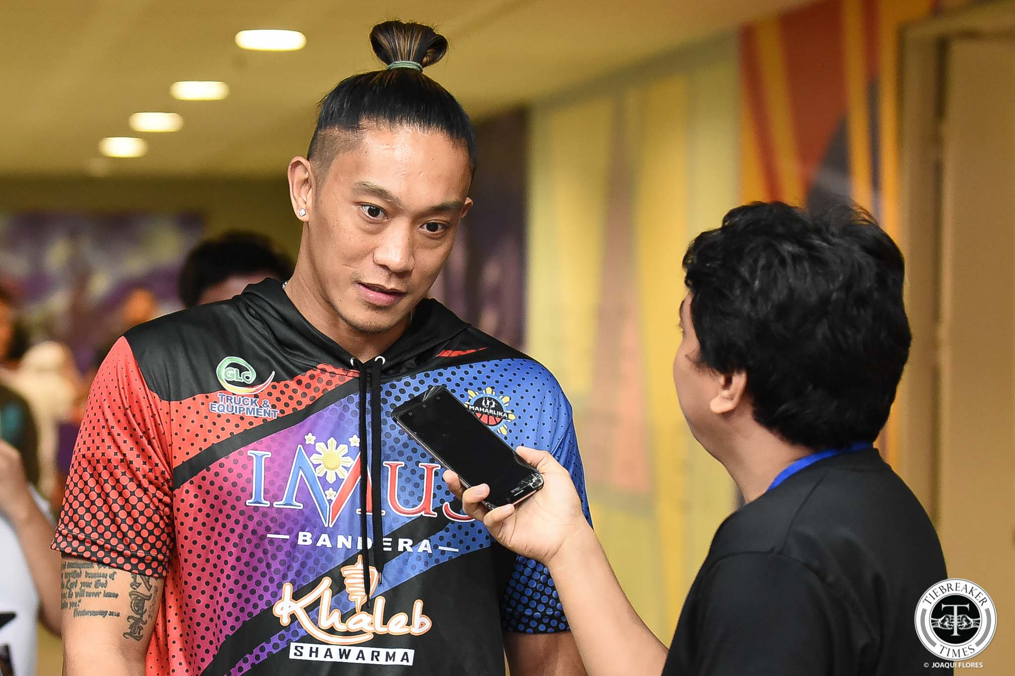 Tiebreaker Times Jayjay Helterbrand goes all-in with Imus Bandera: 'I'm here for the long haul' Basketball MPBL News  Jayjay Helterbrand Imus Bandera 2019-2020 MPBL Lakan Cup