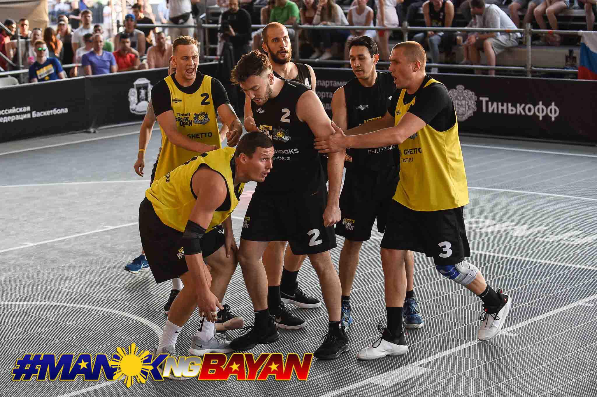 Tiebreaker Times Pasig Chooks-to-Go fall out of Moscow Challenger after heated game against Riga 3x3 Basketball Chooks-to-Go Pilipinas 3x3 News  Taylor Statham Riga Ghetto Pasig Kings Nikola Pavlovic Joshua Munzon Dylan Ababou 2019 FIBA Moscow Tinkoff Challenger 2019 Chooks-to-Go Pilipinas 3x3 Season