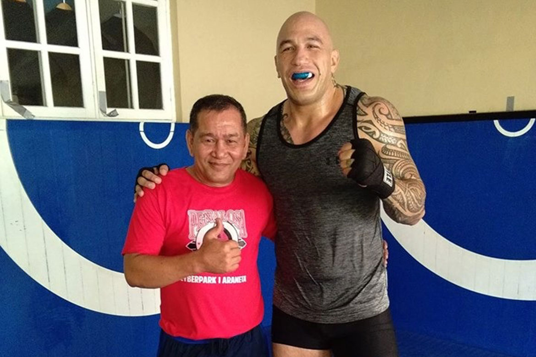 Famed boxing trainer Carl Penalosa marvels at Brandon Vera's