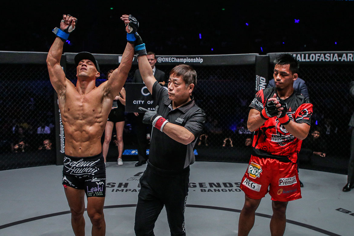 Tiebreaker Times Honorio Banario gets rare chance to atone for Grand Prix loss Mixed Martial Arts News ONE Championship  Team Lakay ONE: Dawn of Heroes Honorio Banario