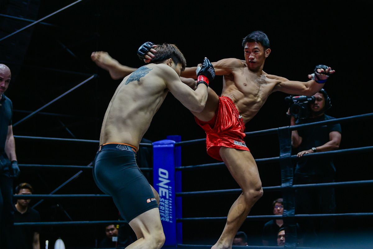 Tiebreaker Times Team Lakay's Jerry Olsim impresses anew in OWS Mixed Martial Arts News ONE Championship  Team Lakay ONE Warrior Series Mark Sangiao Jerry Olsim