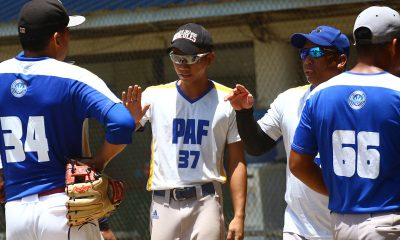 Tiebreaker Times Air Force, Thunder forge PBL title showdown AdU Baseball News NU PBL  Wilfredo Hidalgo Vladi Eguia Thunderz All-Stars Romeo Jasmin Philippine Air Force Lawin NU Baseball Junmar Diarao Ferdinand Liguayan Chris Galedo Andro Guyugan Aids Bernardo Adamson Baseball 2019 PBL Season 2019 PBL Open Conference