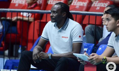 Tiebreaker Times Godfrey Okumu airs frustration on Motolite-Choco Mucho officiating: 'How bad can they be?' News PVL Volleyball  Motolite Godfrey Okumu 2019 PVL Season 2019 PVL Open Conference