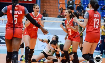 Tiebreaker Times Motolite's woes continue as Edina Selimovic suffers minor knee injury News PVL Volleyball  motolite power builders Edina Selimovic 2019 PVL Season 2019 PVL Reinforced Conference