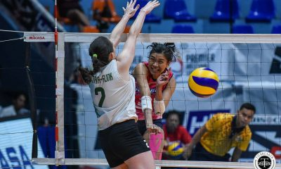 Tiebreaker Times Surging Creamline swipes PacificTown-Army's strong start for eighth straight win News PVL Volleyball  Tai Bundit Pacific Town-Army Lady Troopers Olena Lymareva-Flink Melissa Gohing Kuttika Kaewpin Kungfu Reyes Jovelyn Gonzaga Jia Morado Creamline Cool Smashers Alyssa Valdez Aleoscar Blanco 2019 PVL Season 2019 PVL Reinforced Conference