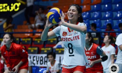 Tiebreaker Times Myla Pablo 'doing okay', still learning Air Padda's system News PVL Volleyball  Myla Pablo motolite power builders Air Padda 2019 PVL Season 2019 PVL Reinforced Conference