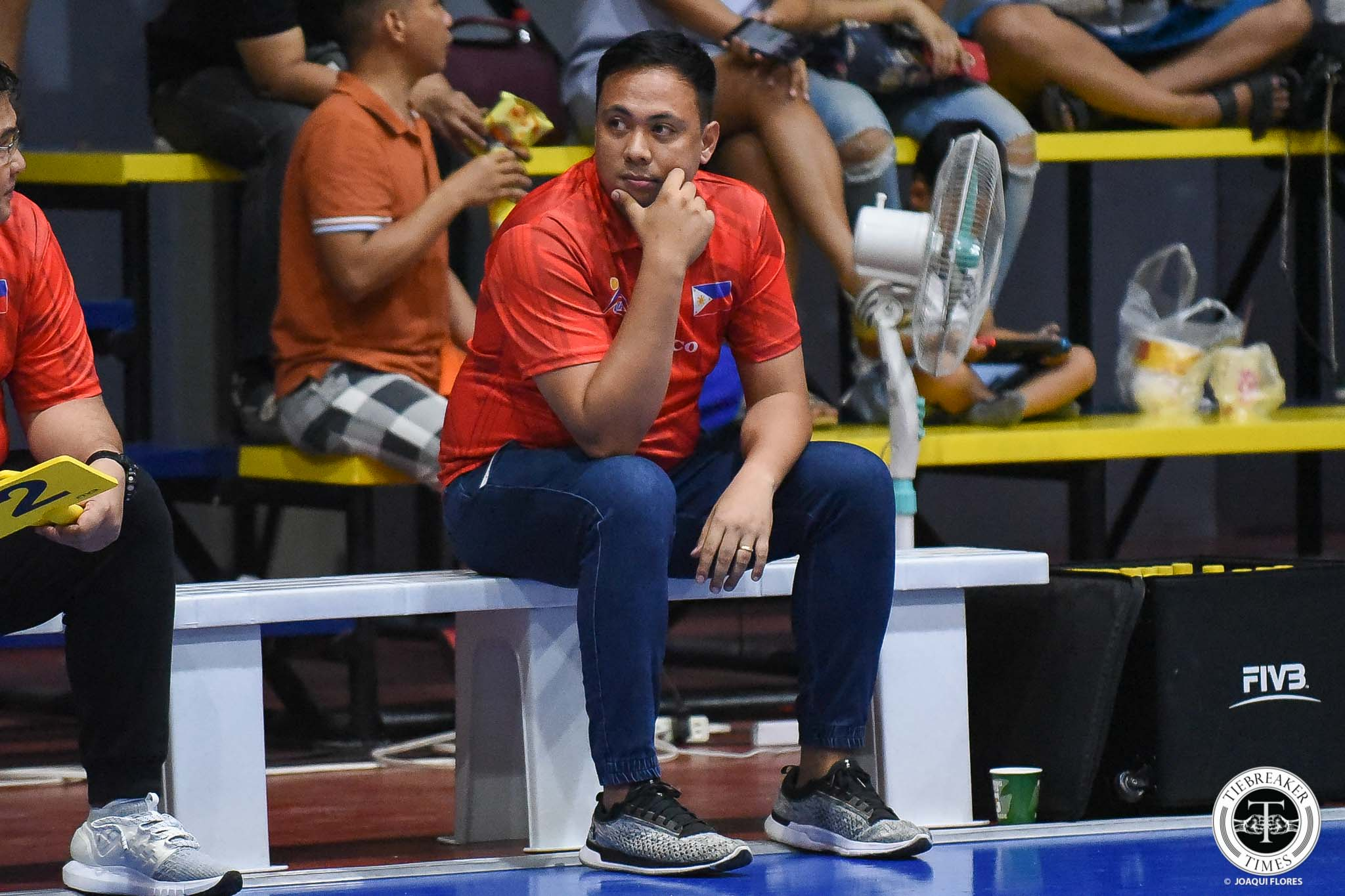 Tiebreaker Times Dante Alinsunurin plays down loss to Sta. Elena, says main goal is to find final 14 News Spikers' Turf Volleyball  Rebisco-Philippines Dante Alinsunurin 2019 Spikers Turf Season 2019 Spikers Turf Reinforced Conference