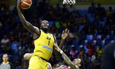 Tiebreaker Times Meralco brings in Delroy James to replace Gani Lawal Basketball News PBA  PBA Transactions PBA Season 44 Meralco Bolts Delroy James 2019 PBA Commissioners Cup