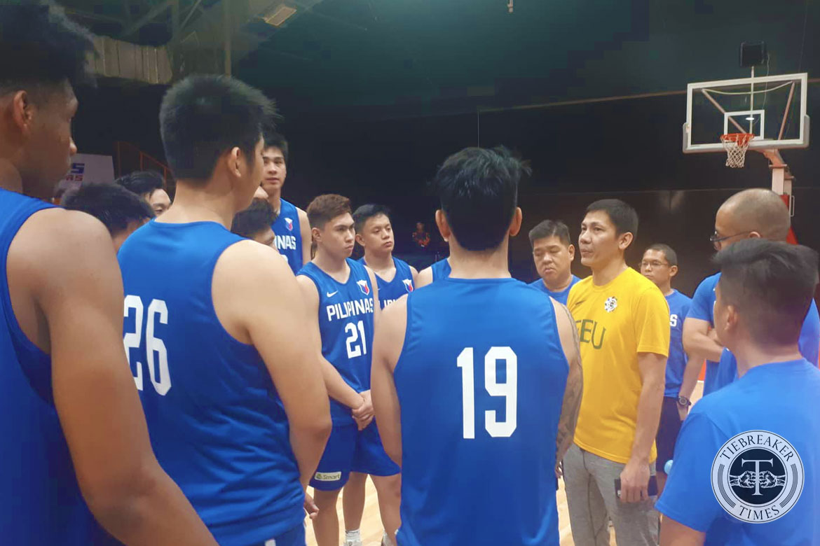 Tiebreaker Times Olsen Racela on Gilas Youth: 'This is a special team' Basketball FEU Gilas Pilipinas News  Olsen Racela Gilas Pilipinas Youth FEU Men's Basketball 2019 FIBA Under-19 World Cup