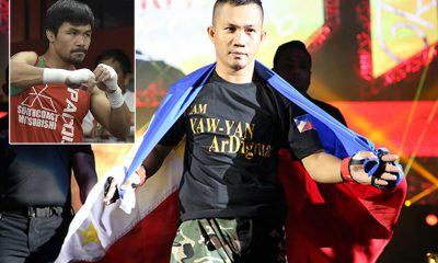 Tiebreaker Times Manny Pacquiao continues to inspire next generation of martial artists -- including Roel Rosauro Mixed Martial Arts News ONE Championship  Roel Rosauro Manny Pacquiao