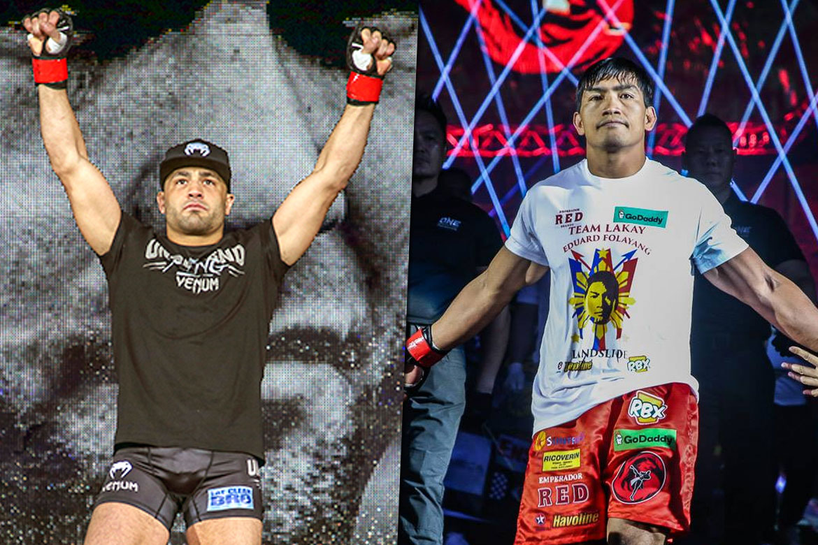 Tiebreaker Times Eddie Alvarez' quest for greatness led him to Eduard Folayang Mixed Martial Arts News ONE Championship  ONE: Legendary Quest Eduard Folayang Eddie Alvarez