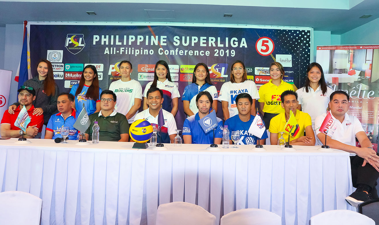 Tiebreaker Times Petron Blaze Spikers wary of stacked PSL AFC field News PSL Volleyball  United VC Sta. Lucia Lady Realtors Shaq delos Santos Rachel Daquis PLDT Home Fibr Power Hitters Petron Blaze Spikers Marinerang Pilipina Generika-Ayala Lifesavers Foton Tornadoes Cignal HD Spikers 2019 PSL Season 2019 PSL All Filipino Conference