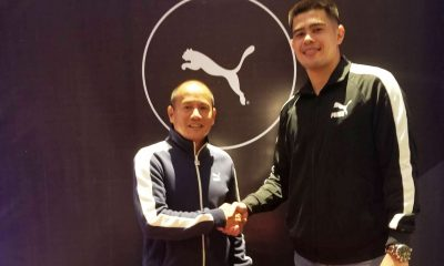 Tiebreaker Times Carl Cruz grateful as he signs deal with PUMA Basketball News PBA  Carl Cruz