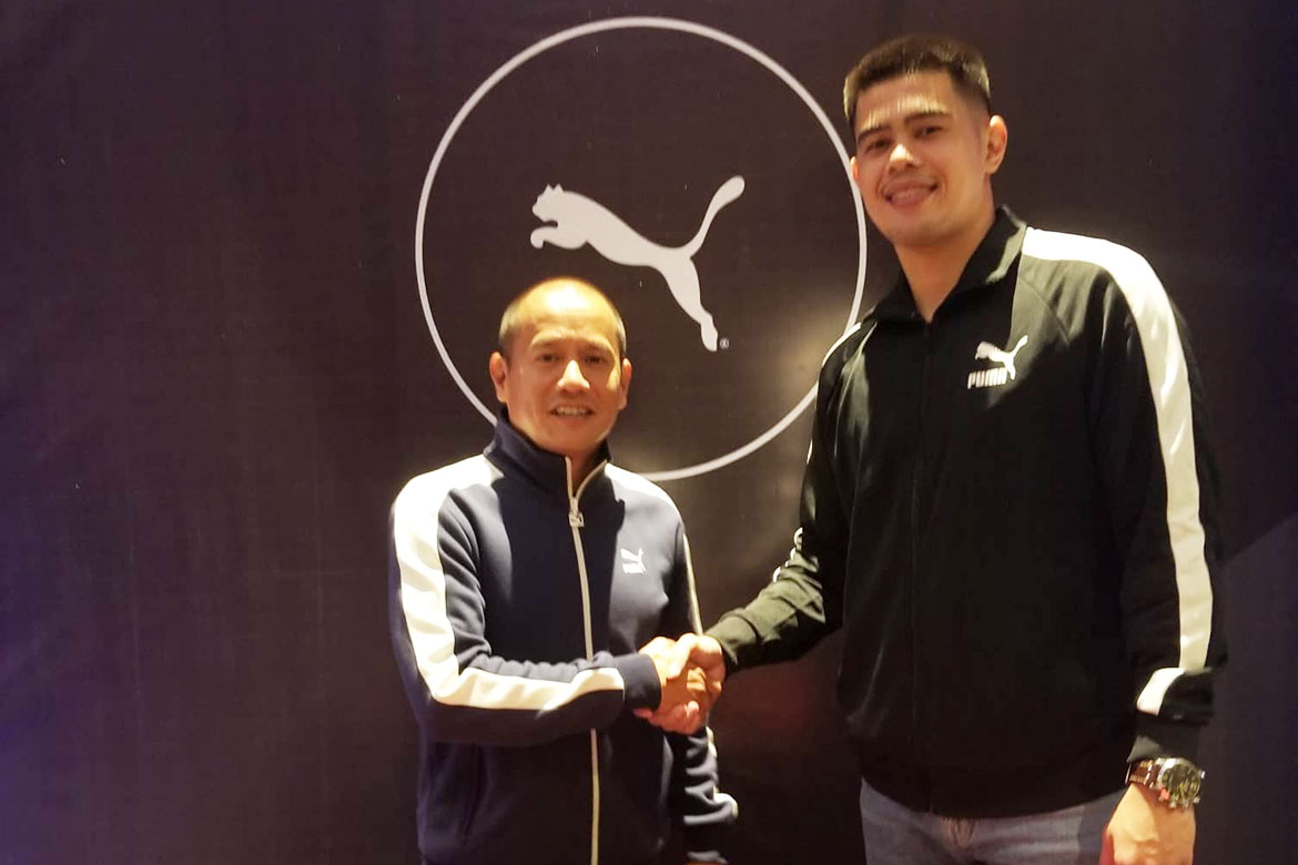 puma-x-carl-cruz Besides Kiefer and Scottie, here are some PBA stars who have shoe deals News PBA  - philippine sports news