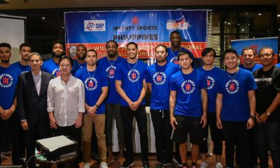Tiebreaker Times Mighty Sports want nothing less than to win Jones Cup Basketball News  Samahang Basketbol ng Pilipinas Rajko Toroman Mighty Sports Charles Tiu Angelo Wongchuking Al Panlilio 2019 William Jones Cup