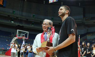 Tiebreaker Times Kobe Paras crowned as BLIA Cup MVP Basketball News UP  Kobe Paras Bright Akhuetie 2019 Buddha's Light International Association Cup