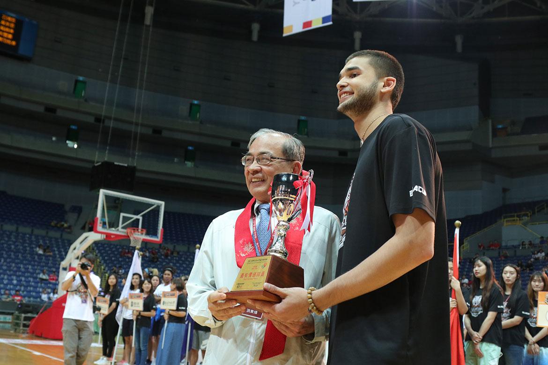 Tiebreaker Times Kobe Paras crowned as BLIA Cup MVP Basketball News UP  Kobe Paras Bright Akhuetie 2019 Buddha's Light International Association Cup