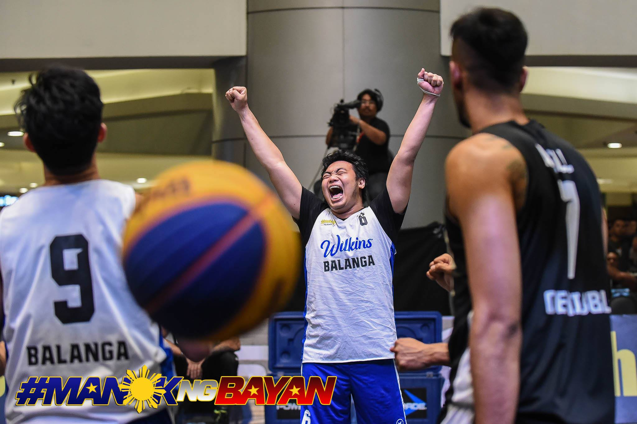 Tiebreaker Times After airballing free throw in MPBL, Alvin Pasaol atones for it in Chooks 3x3 3x3 Basketball Basketball Chooks-to-Go Pilipinas 3x3 MPBL News  Wilkins Balanga Pure Bataan Risers Alvin Pasaol 2019-20 MPBL Lakan Cup 2019 Chooks-to-Go Pilipinas 3x3 Season 2019 Chooks-to-Go Pilipinas 3x3 Patriots Cup
