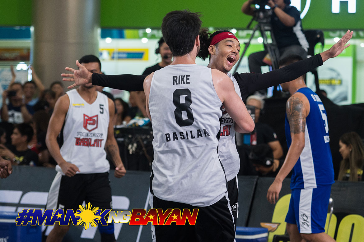 Tiebreaker Times Franky Johnson leads Phenom-Basilan past Balanga to take Patriot's Cup pole 3x3 Basketball Chooks-to-Go Pilipinas 3x3 News  Wilkins Balanga Pure VetHealth-Delhi 3BL Troy Rike Travis Franklin Marcus Hammonds Karl Dehesa Gab Dagangon Franky Johnson Chris De Chavez Cebu-Max 4 Birada Basilan Steel Alvin Pasaol 2019 Chooks-to-Go Pilipinas 3x3 Season 2019 Chooks-to-Go Pilipinas 3x3 Patriots Cup
