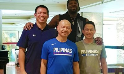 Tiebreaker Times Andray Blatche all set for Gilas Pilipinas' World Cup campaign Basketball Gilas Pilipinas News  Yeng Guiao Ryan Gregorio Gilas Pilipinas Men Gabby Cui Andray Blatche 2019 FIBA World Cup