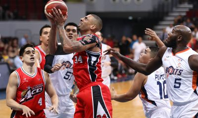 Tiebreaker Times Diamon Simpson still in disbelief as Alaska pulls off improbable comeback Basketball News PBA  PBA Season 44 Diamon Simpson Alaska Aces 2019 PBA Commissioners Cup