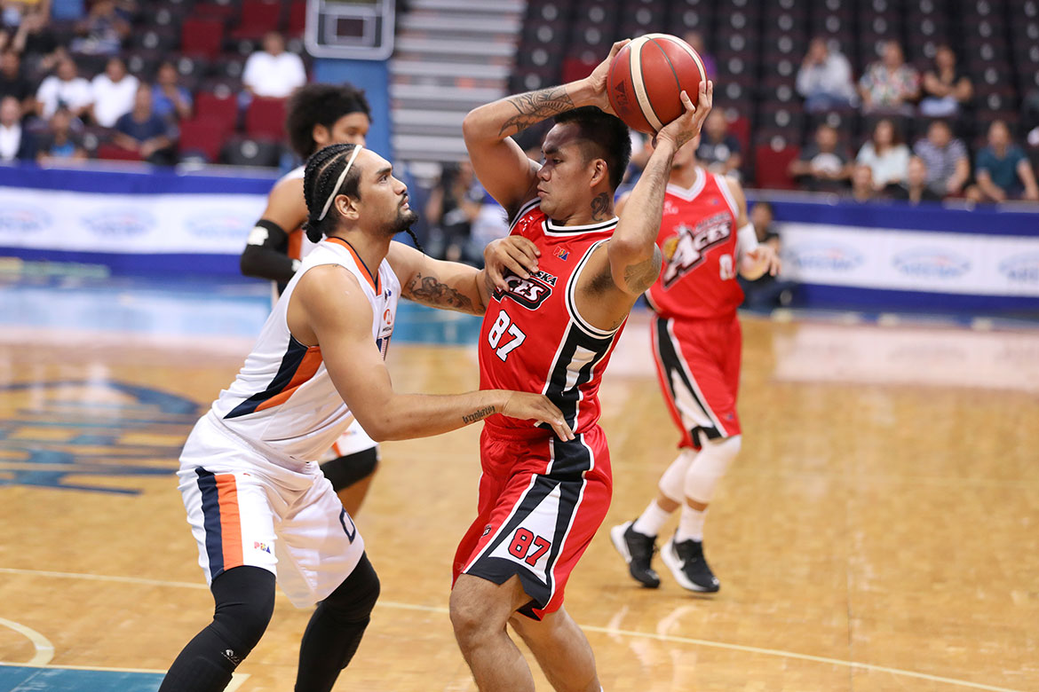 Tiebreaker Times Still hurting Vic Manuel vows to not back down against Terrence Jones Basketball News PBA  Vic Manuel PBA Season 44 Alaska Aces 2019 PBA Commissioners Cup