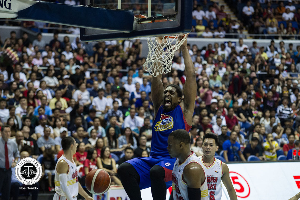 Tiebreaker Times James Farr eyes payback as best PBA outing goes for naught Basketball News PBA  PBA Season 44 Magnolia Hotshots James Farr 2019 PBA Commissioners Cup