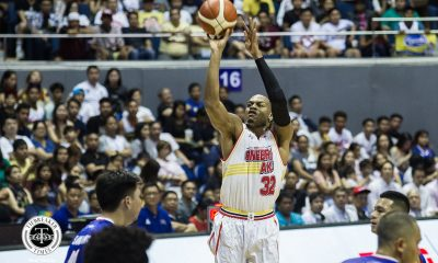 Tiebreaker Times Justin Brownlee's 49-point explosion was Jordan-like in Tim Cone's eyes Basketball News PBA  Tim Cone PBA Season 44 Justin Brownlee Barangay Ginebra San Miguel 2019 PBA Commissioners Cup