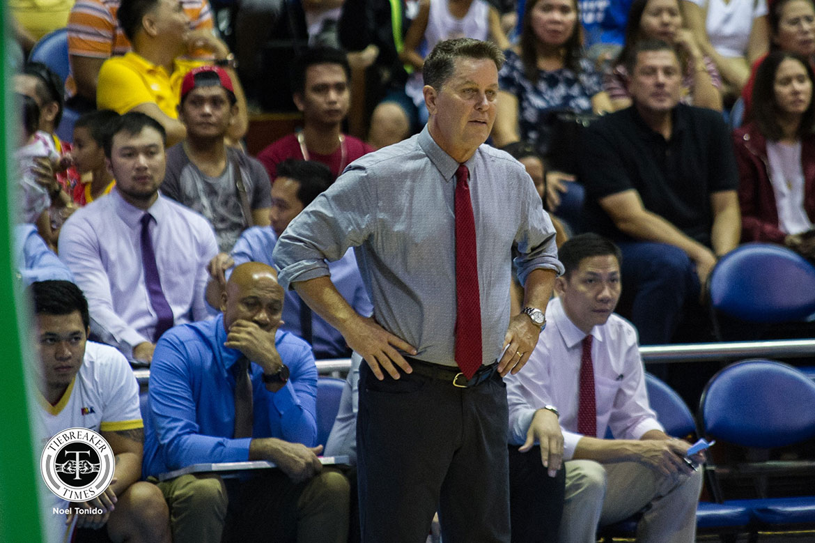 Tiebreaker Times Tim Cone believes TNT has 'good shot' to win Commissioner's Cup crown Basketball News PBA  Tim Cone PBA Season 44 Barangay Ginebra San Miguel 2019 PBA Commissioners Cup