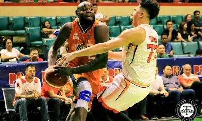 Tiebreaker Times Delroy James moves on from loss to NorthPort, braces for good friend McCullough Basketball News PBA  PBA Season 44 Northport Batang Pier Delroy James 2019 PBA Commissioners Cup