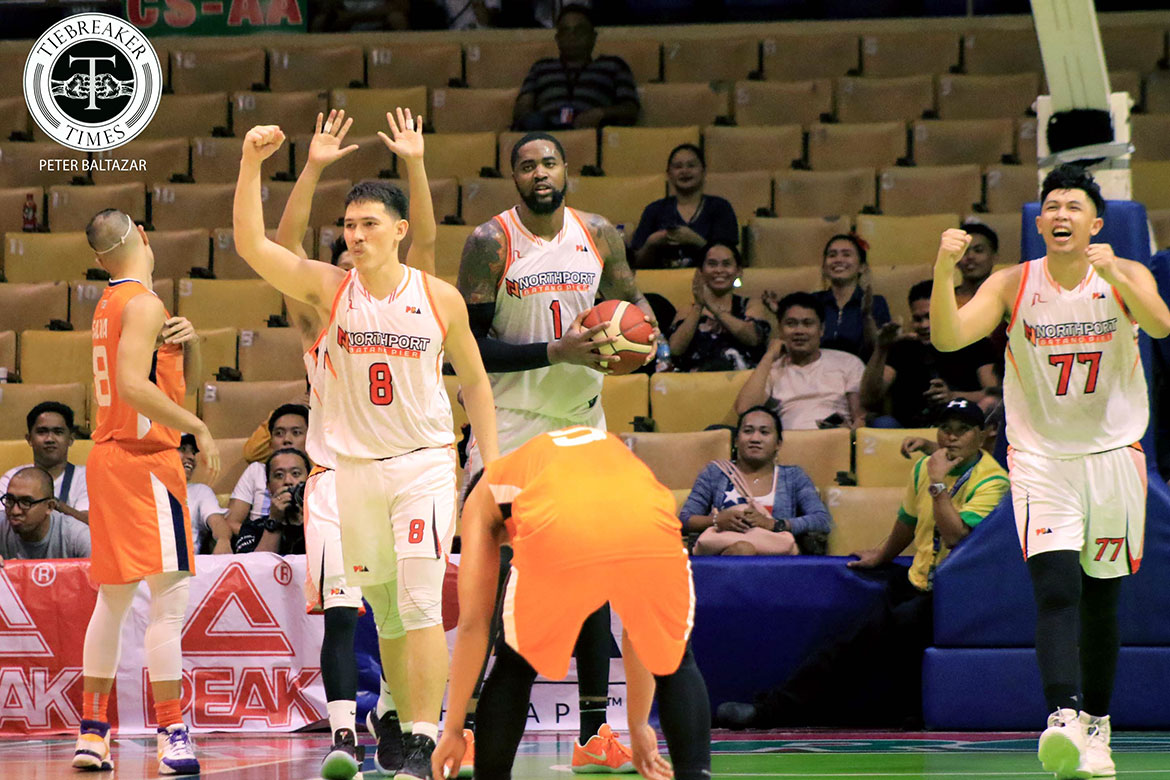 Tiebreaker Times Robert Bolick finally gets his wish -- a clear game-winner Basketball News PBA  Robert Bolick PBA Season 44 Northport Batang Pier 2019 PBA Commissioners Cup