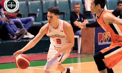 Tiebreaker Times Bolick hits game-winner as NorthPort sinks Meralco to remain in hunt for top seed Basketball News PBA  Sol Mercado Robert Bolick Prince Ibeh Pido Jarencio PBA Season 44 Northport Batang Pier Norman Black Meralco Bolts Delroy James Cliff Hodge Chris Newsome Baser Amer 2019 PBA Commissioners Cup
