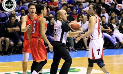 Tiebreaker Times Terrence Romeo vows to be more mature as he gets caught flipping off fans Basketball News PBA  Terrence Romeo San Miguel Beermen PBA Season 44 2019 PBA Commissioners Cup