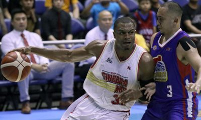 Tiebreaker Times Brownlee says sweep of Magnolia more than just payback: 'It's a bigger goal' Basketball News PBA  PBA Season 44 Justin Brownlee Barangay Ginebra San Miguel 2019 PBA Commissioners Cup