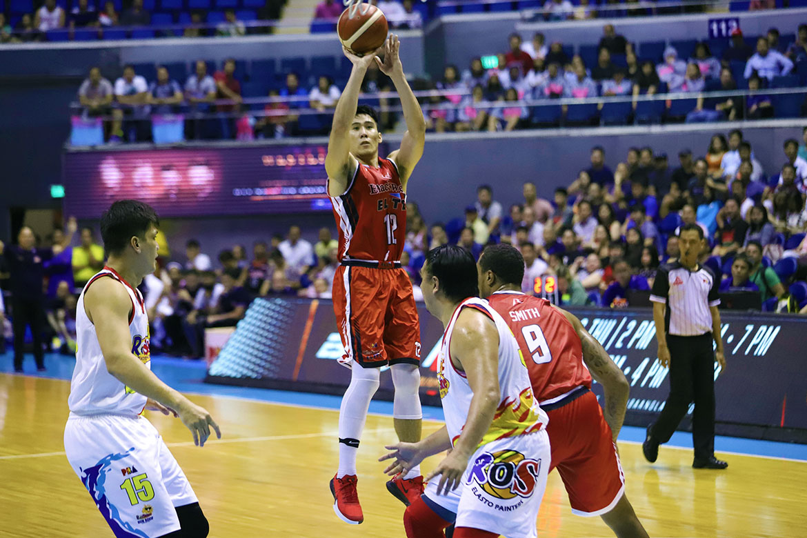 Tiebreaker Times Mac Belo keeps head high as Blackwater's semis bid stalled once more Basketball News PBA  PBA Season 44 Mac Belo Blackwater Elite 2019 PBA Commissioners Cup