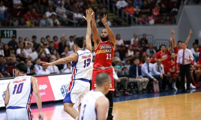 Tiebreaker Times Stanley Pringle not celebrating much after taking Game One: 'Job's not done' Basketball News PBA  Stanley Pringle PBA Season 44 Barangay Ginebra San Miguel 2019 PBA Commissioners Cup