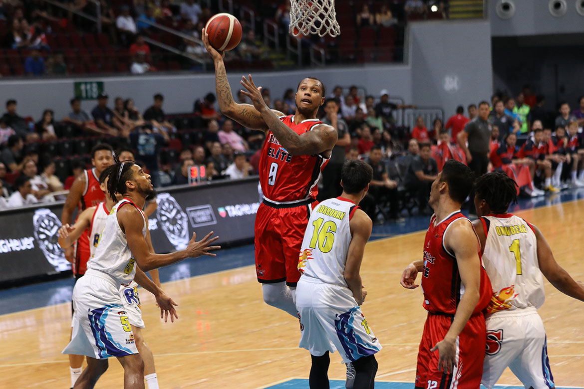 Tiebreaker Times Even after horrid outing, Greg Smith '120-percent confident' Blackwater forces Game 3 Basketball News PBA  PBA Season 44 Greg Smith Blackwater Elite 2019 PBA Commissioners Cup