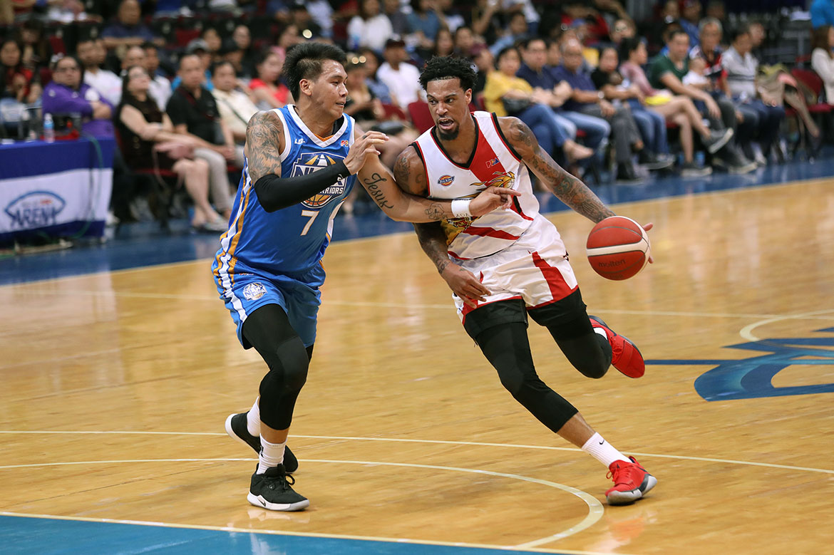 Tiebreaker Times Chris McCullough brings much-needed boost for San Miguel Basketball News PBA  San Miguel Beermen PBA Season 44 Chris McCullough 2019 PBA Commissioners Cup
