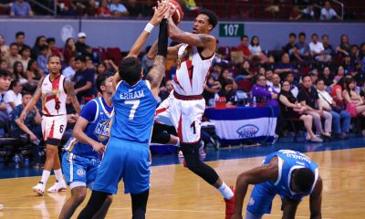 Tiebreaker Times Chris McCullough drops 47 in debut as San Miguel wards off NLEX Basketball News PBA  Yeng Guiao San Miguel Beermen PBA Season 44 Olu Ashaolu NLEX Road Warriors Marcio Lassiter Leo Austria Juami Tiongson JP Erram Christian Standhardinger Chris McCullough Alex Cabagnot 2019 PBA Commissioners Cup