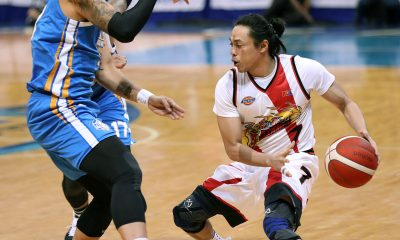 Tiebreaker Times Though relieved to be back, Terrence Romeo says conditioning is still really far Basketball News PBA  Terrence Romeo San Miguel Beermen PBA Season 44 2019 PBA Commissioners Cup