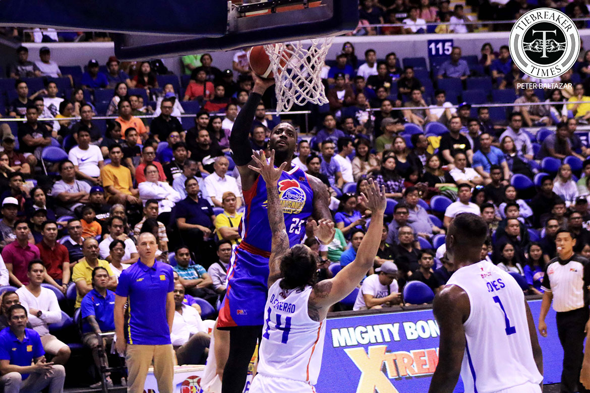 Tiebreaker Times Rusty Akeem Christmas looks to move on from disappointing debut Basketball News PBA  TNT Katropa Terrence Jones PBA Season 44 2019 PBA Commissioners Cup