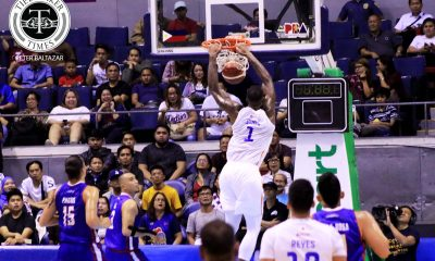 Tiebreaker Times Added inspiration for Terrence Jones as Fil-Am son Ajani watches game live Basketball News PBA  TNT Katropa Terrence Jones PBA Season 44 2019 PBA Commissioners Cup